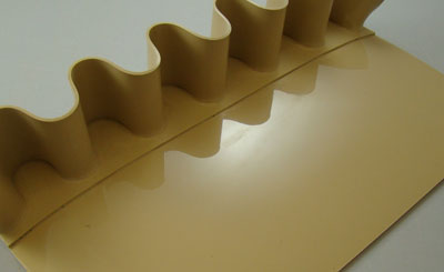 Corrugated Sidewall